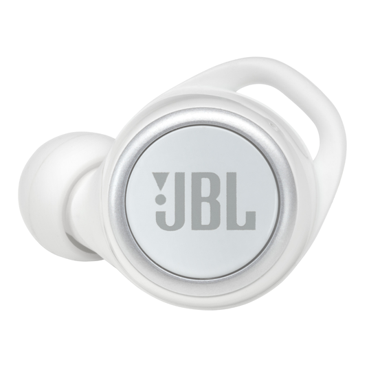 JBL Live 300TWS - White Gloss - True wireless in-ear headphones with Smart Ambient - Detailshot 2