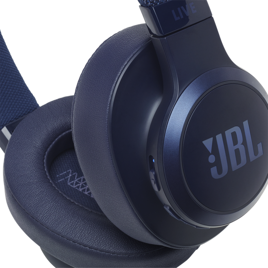 JBL LIVE 500BT - Blue - Your Sound, Unplugged - Detailshot 3