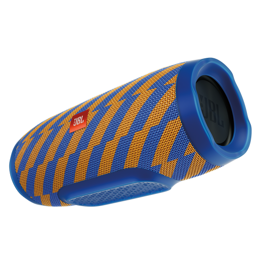 JBL Charge 3 Special Edition - Zap - Full-featured waterproof portable speaker with high-capacity battery to charge your devices - Hero