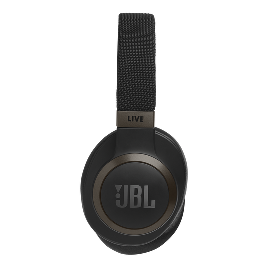 JBL LIVE 650BTNC - Black - Wireless Over-Ear Noise-Cancelling Headphones - Detailshot 9