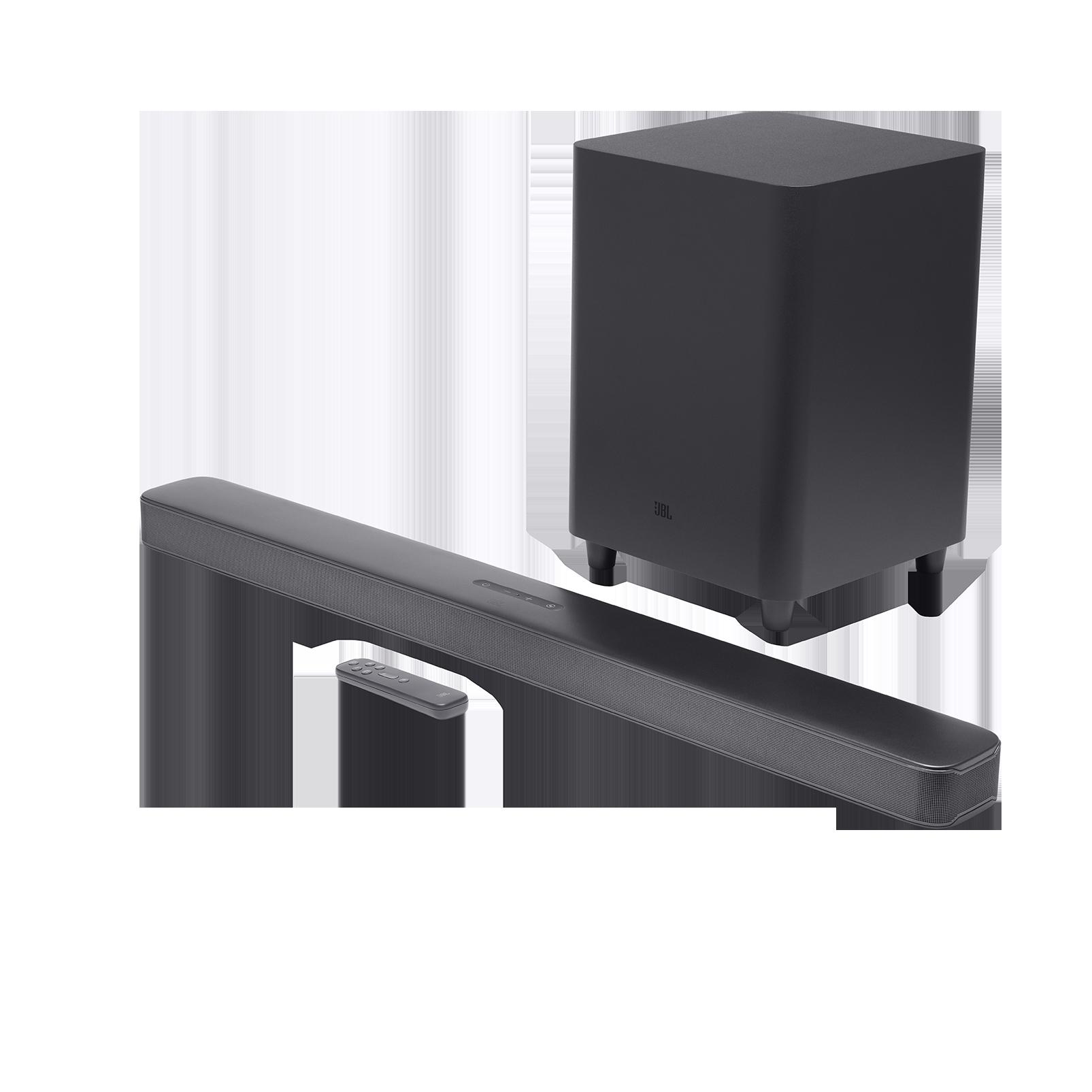 JBL Bar 5.1 Surround - Black - 5.1 channel soundbar with MultiBeam™ Sound Technology - Hero