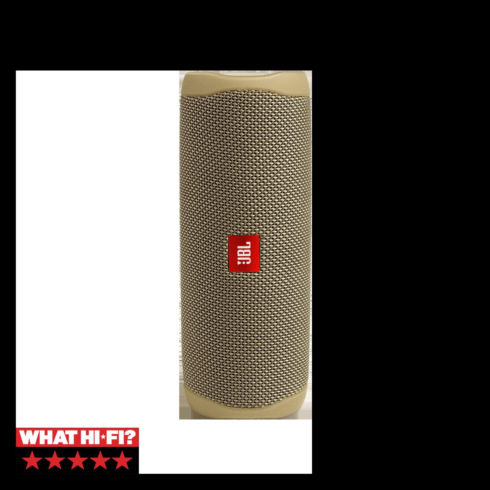 JBL FLIP 5 - Sand - Portable Waterproof Speaker - Hero